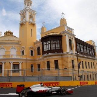 Formula 1 Baku City Photos - Haas F1