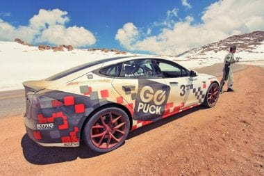 K1 Speed Karting - Tesla Model S Racecar