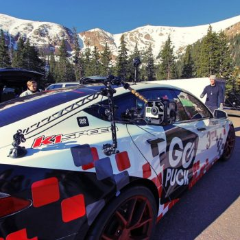 K1 Speed Sponsored Tesla Model S Racecar