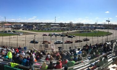 Rockford Speedway Covered in Dirt - Outlaw Clay Classic