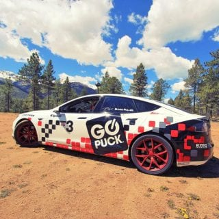 Tesla Model S Racecar Photos - Blake Fuller