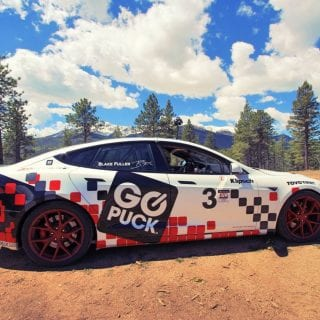 Tesla Model S Racecar Photos - Pikes Peak Hill Climb
