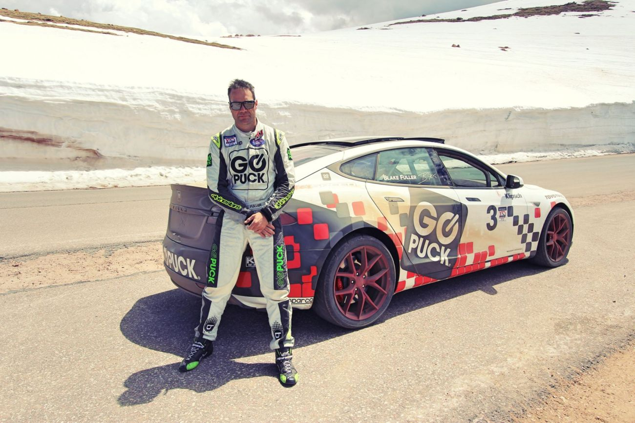 Go Puck Tesla Model S Racecar To Be Driven By Ceo Blake Fuller