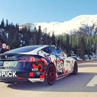 Tesla Racecar - Pikes Peak Hill Climb