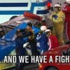 nascar camping world truck series fight John Wes Townley vs Spencer Gallagher
