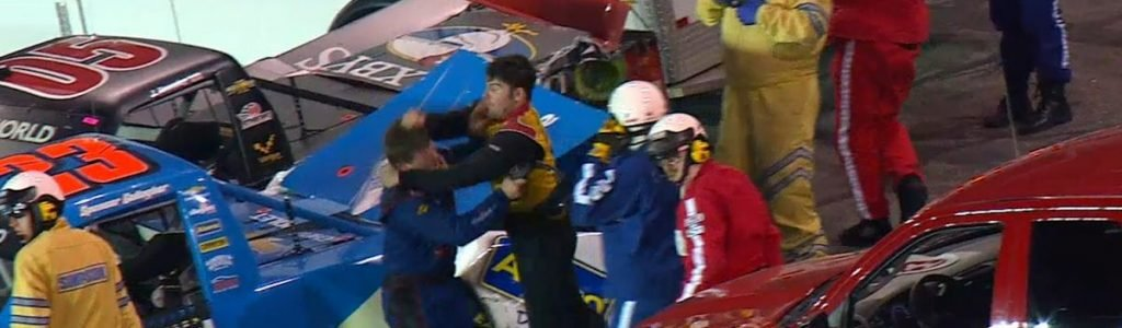 NASCAR Truck Series Fight at Gateway Motorsports Park