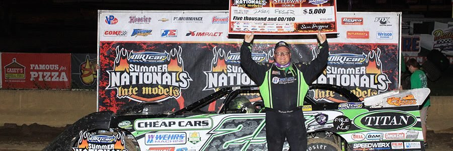 DIRTcar Summer Nationals Daugherty Speedway Results