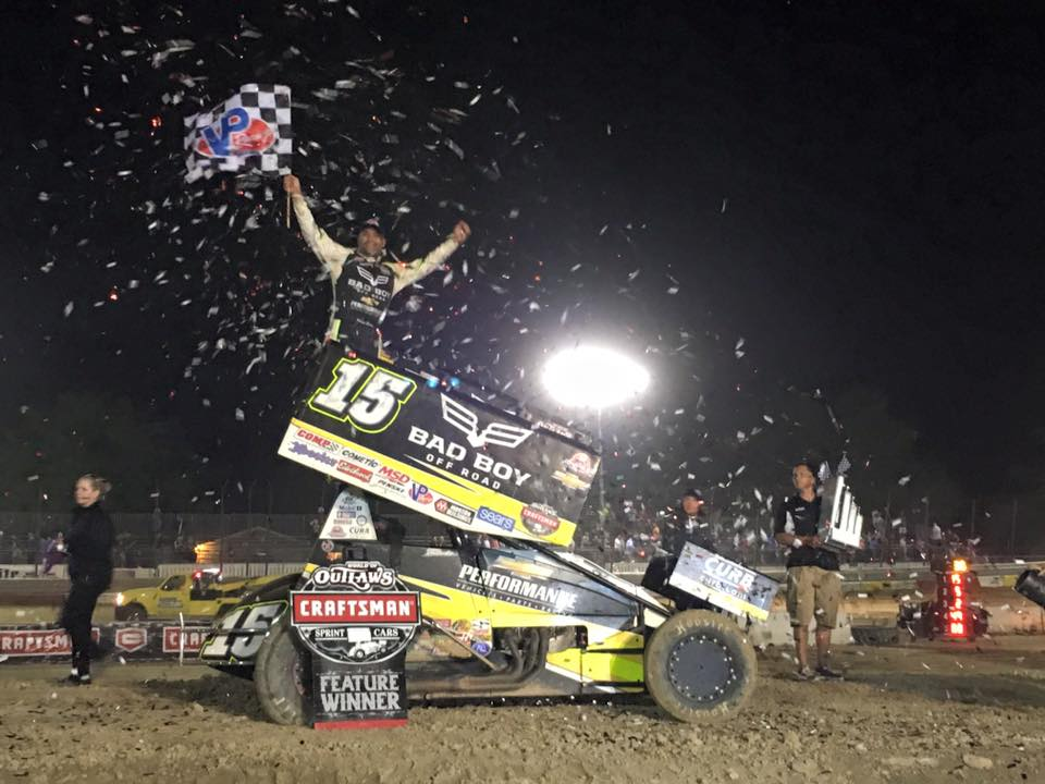 2016 Outlaw Clay Classic Sprint Car Results Donny Schatz