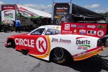 Circle K Funny Car - Jim Dunn Racing