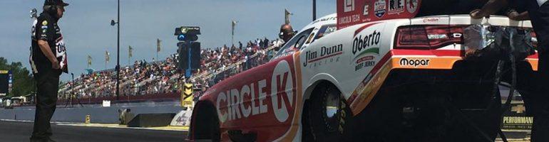 Circle K Funny Car at NHRA Mile High Nationals