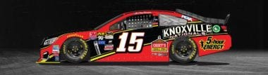 Knoxville Nationals NASCAR Racecar to be driven by Clint Bowyer at Pocono