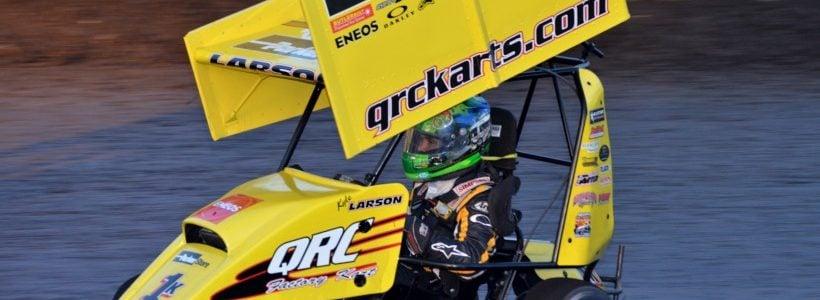 Kyle Larson Outlaw Kart Race
