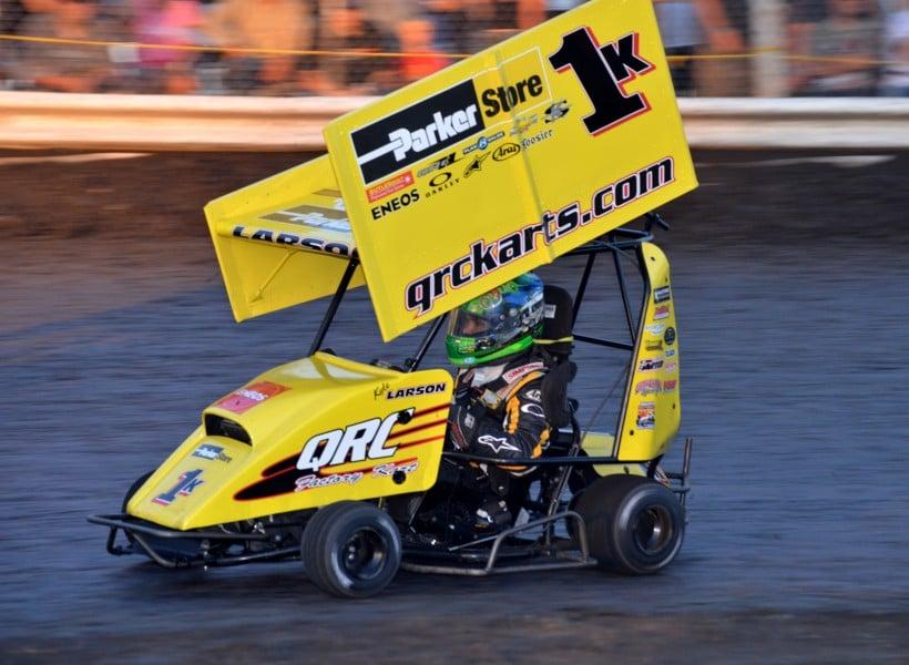 The Kyle Larson Outlaw Kart Showcase