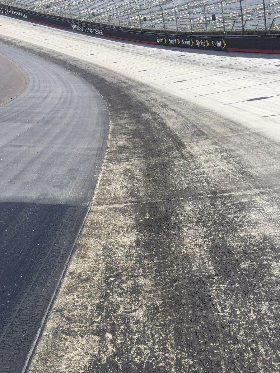Bristol Motor Speedway Low Groove - Track Sealer 2016