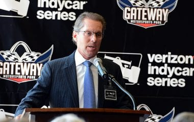 Indycar Coming to St Louis - Curtis Francois Gateway Motorsports Park Owner