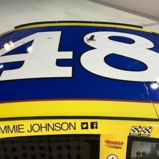 Jimmie Johnson 2016 Darlington Raceway Southern 500 Retro Paint Scheme Photos