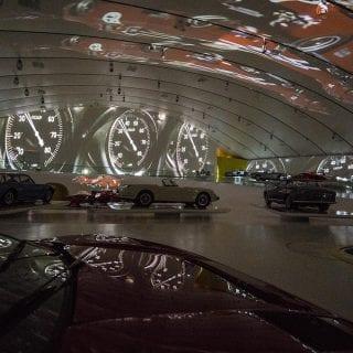 Museo Enzo Ferrari Modena Museum MEH 2016 Exhibit Photo