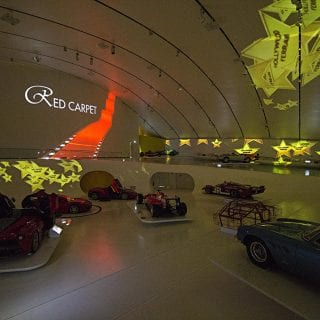 Museo Enzo Ferrari Modena Museum MEH 2016 Red Carpet Exhibit Photos