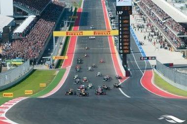 2nd F1 Race in America - COTA Event