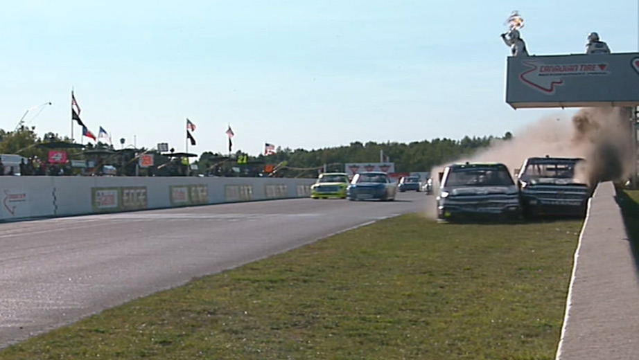 Cole Custer vs John Hunter Nemechek - Canadian Tire Motorsports Park Road Course Finish