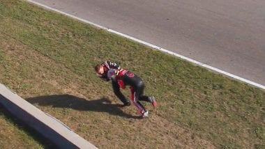 Cole Custer vs John Hunter Nemechek Fight - Canadian Tire Motorsports Park