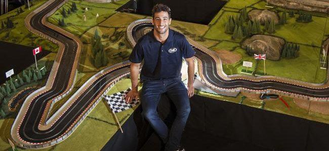 Daniel Ricciardo Slot Car Track