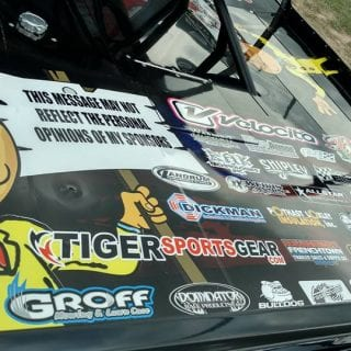 donald trump dirt late model this message may not reflect the personal views of my sponsors