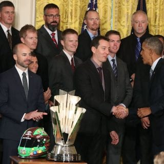 Kyle Busch visits the White House