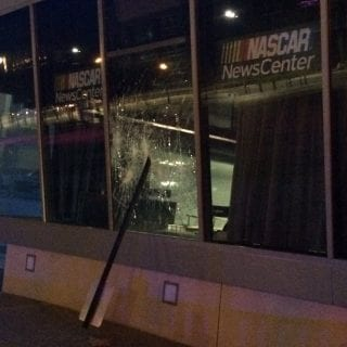 NASCAR Hall of Fame Looted during Charlotte Protests