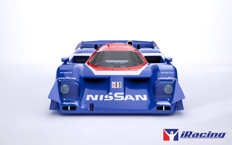 iRacing Nissan GTP ZX Turbo Photos