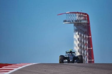 2016 USGP Results Sheet - Lewis Hamilton Wins