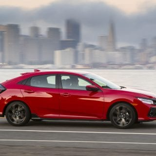 2017 Honda Civic Hatchback Cityscape Photo