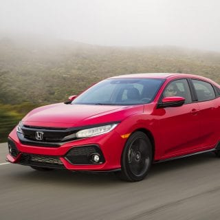 2017 Honda Civic Hatchback Fog Photo