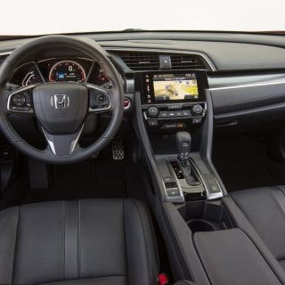 2017 Honda Civic Hatchback Interior Photo