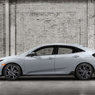 2017 Honda Civic Hatchback Modern Architecture Photo