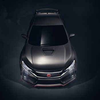 2017 Honda Civic Type R From Above Photo