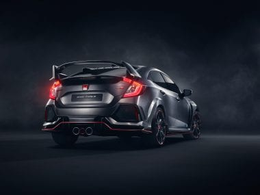 2017 Honda Civic Type R Rear Photo