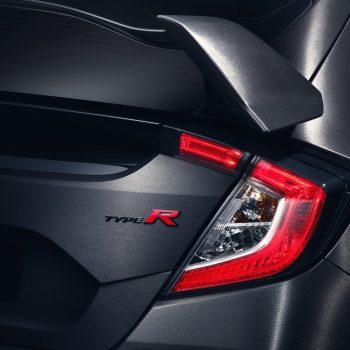 2017 Honda Civic Type R Taillight Photo