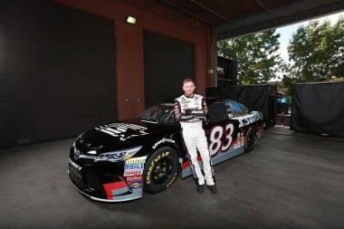 BK Racing Announce Jeffrey Earnhardt driver of Starter NASCAR Racecar - Talladega Superspeedway