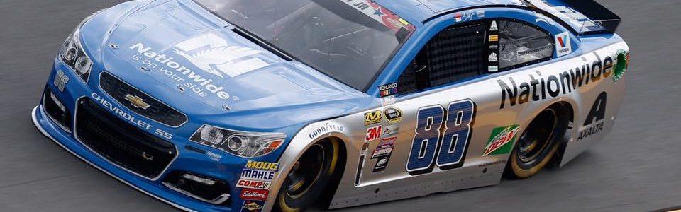 Dale Earnhardt Jr Joins NASCAR Broadcast Booth at Talladega