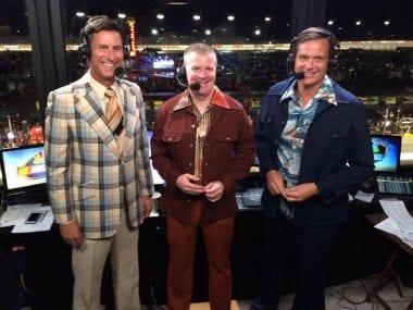 Dale Earnhardt Jr Joins NASCAR NBC Broadcast Booth at Talladega
