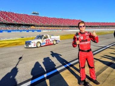 Donald Trump NASCAR Truck Series - Austin Wayne Self