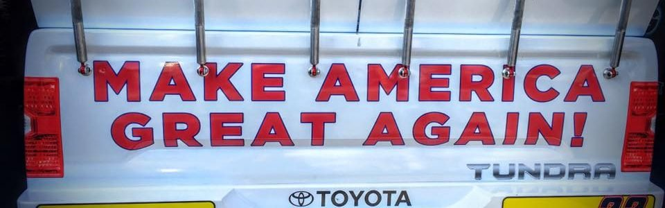 Donald Trump NASCAR Truck Debuts at Talladega