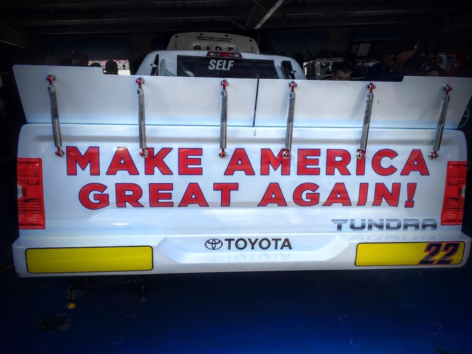 Donald Trump Truck - Make America Great Again