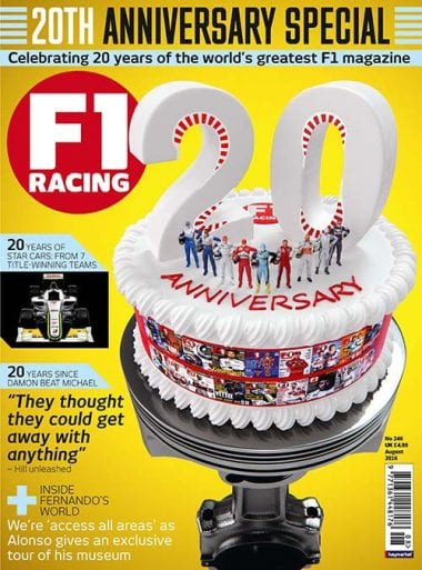 f1 racing magazine owned by motorsport