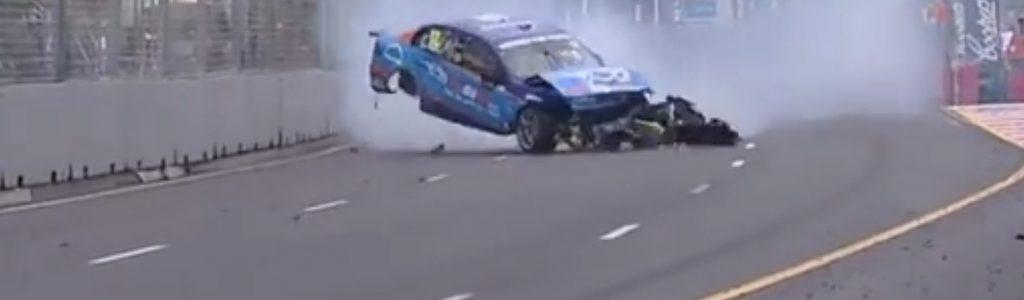 Garth Tander vs Fabian Coulthard