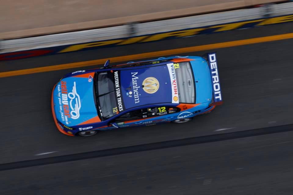 Garth Tander vs Fabian Coulthard Crash Video - Gold Coast 600