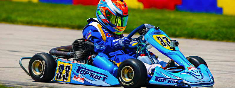 Giovanni Bromante – Former TruTV 'Kart Life' Star Impresses in Stock Car Debut