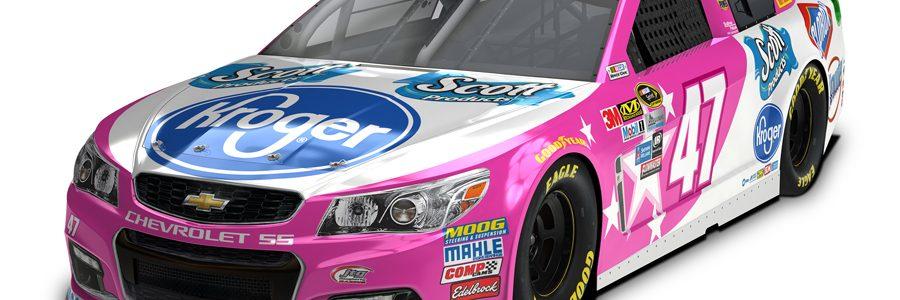 JTG Daugherty Racing and AJ Allmendinger Pink Car – Talladega