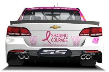 JTG Daugherty Racing and AJ Allmendinger Pink Car - Talladega